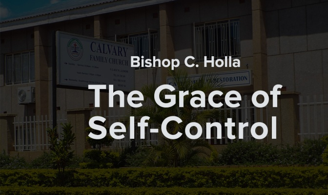 The Grace of Self-Control