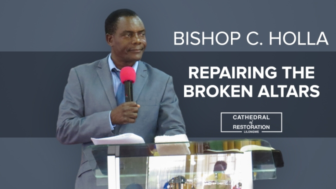 Repairing The Broken Altars